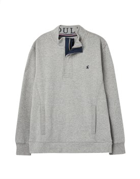 Joules Deckside Sweatshirt XL Grey Marl