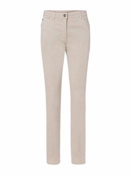 Olsen Mona Slim Stretch Jeans 10 Light Sand