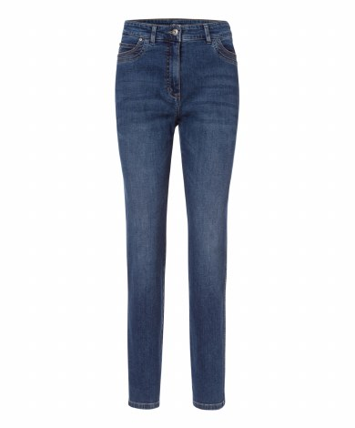 Olsen Mona Slim Jeans 16 Blue Denim