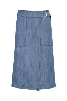 Part Two Blerina Denim Skirt 18 Blue