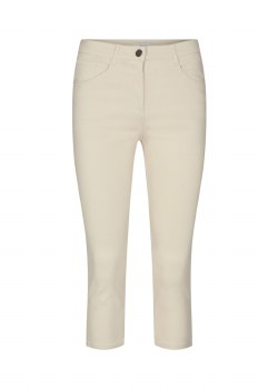 Soya Concept Crop Trousers 16 Sand