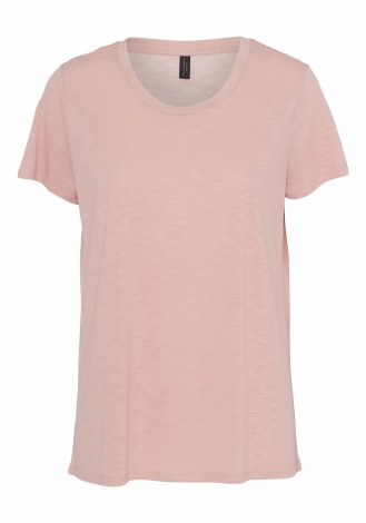 Soya Concept Plain T Shirt M Pink