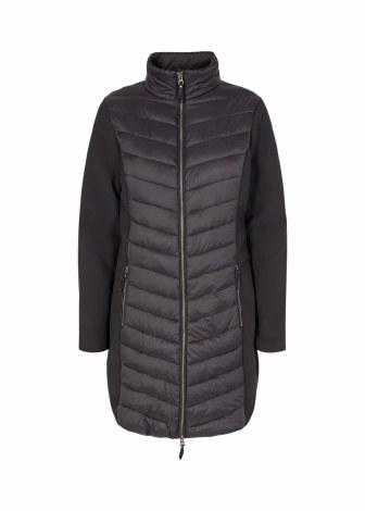 Soya Concept Scuba Padded Coat M Black