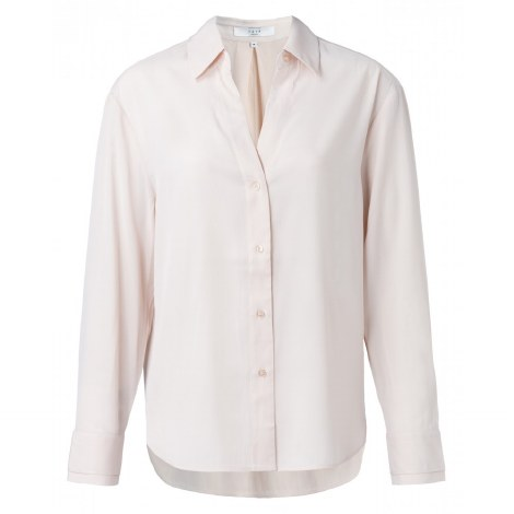 Yaya V Neck Shirt 10 Pale Pink