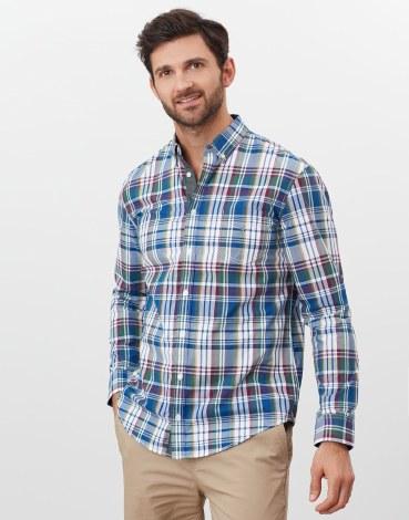Joules Lyndhurst Shirt S Purple Check
