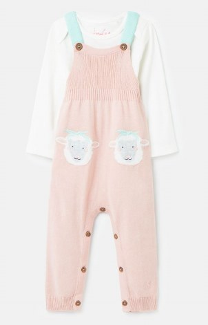 Joules Marci Knit Romper 6-9 months Pink
