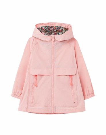 Joules Roseberry Raincoat 6 Pink
