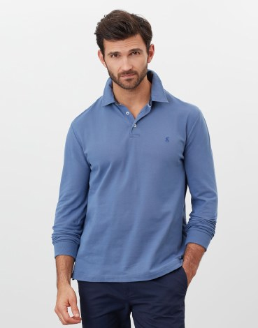 Joules Woodwell Poloshirt S Blue