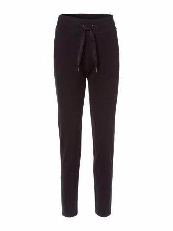 Olsen Lisa Jersey Trousers 18 Black