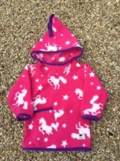 Shepi Originals Unicorn Pixie Hoodie 1-2 years Cerise