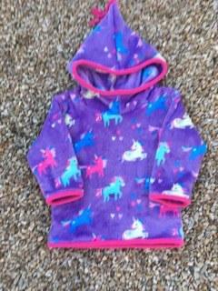Shepi Originals Unicorn Pixie Hoodie 2-3 yrs Mauve