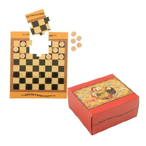 Mini Vintage Game - Draughts