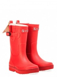 Aigle Woodypop Kids Wellies Cerise 24