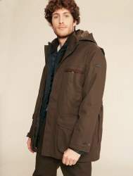 Aigle Courtal Shooting 3 in 1 Jacket M Bronze