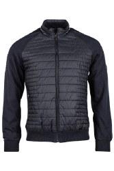 Baileys Padded Cardigan Jacket XL Navy