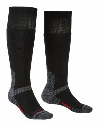 Bridgedale Explorer Heavyweight Merino Knee  Socks XL Black