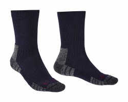 Bridgedale Hike Lightweight Merino Endurance Boot Socks XL Navy