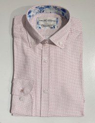 Carlos Cordoba Chevon Shirt XL Rust