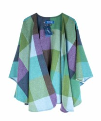 Fishers Cape  Green/Purple-646