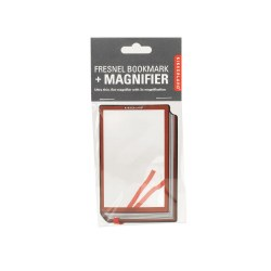 Kikkerland Fresnel Bookmark & Magnifier