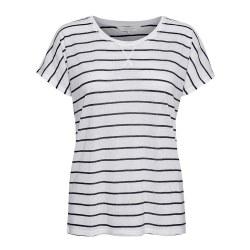 Part TWo Kato Stripe T-Shirt M Dark Blue