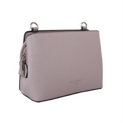 Red Cuckoo Crossover Bag  Silver
