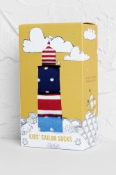 Seasalt Kids Selection Box Of Socks Full Sun