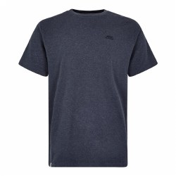 Weirdfish Fished Plain TShirt M Navy