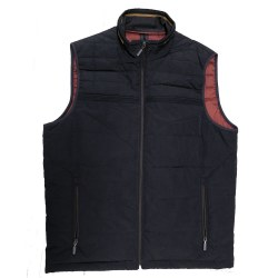 Baileys Quilted Gilet M Navy