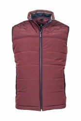 Baileys Quilted Gilet 3XL Wine