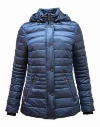 Barbara Lebek Hooded Jacket 10 Petrol Blue 83