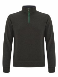 Benetti George Quarter Zip L Charcoal