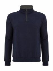 Benetti Leeds 1/4Zip Sweatshirt L Navy