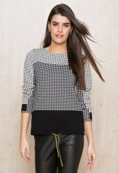 Bianca Geo Black & White Jumpe
