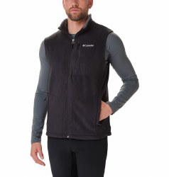 Columbia Fast Trek Fleece Vest S Black