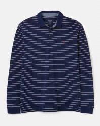 Joules Woodwell Poloshirt L Navy Cream Stripe