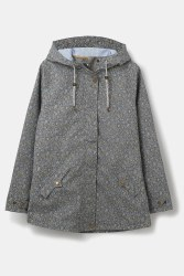 Lighthouse Tori Floral Print Coat 8 Grey