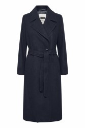 Part Two Eja Wool Coat 8 Night Sky