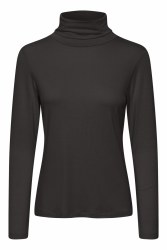 Part Two Efinas Poloneck Top XS Black