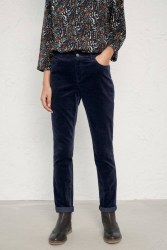 Seasalt Lamledra Slim Cords 12 Midnight Navy