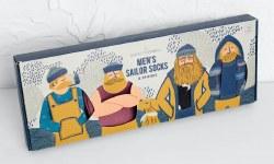 Seasalt Mens Selection Box Socks Pack