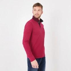 Eden Park Long Sleeve Poloshirt