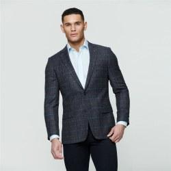 Magee Grey Check Jacket