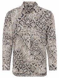 Olsen Snake Print Shirt