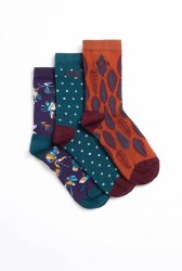 Weird Fish Parade Eco Socks