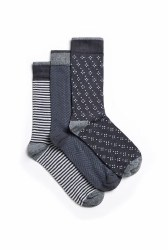Weird Fish Wyatt Stripe Socks