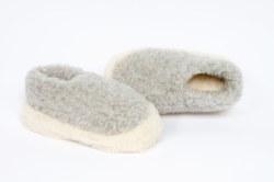 Yoko Siberian Wool Slippers