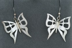 Charlie Harrison Butterfly Earrings