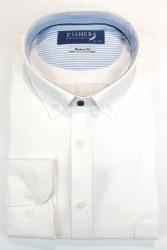Fishers Plain Button Down Shirt L White
