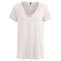 Henrietta Steffenson SS Top S Off White